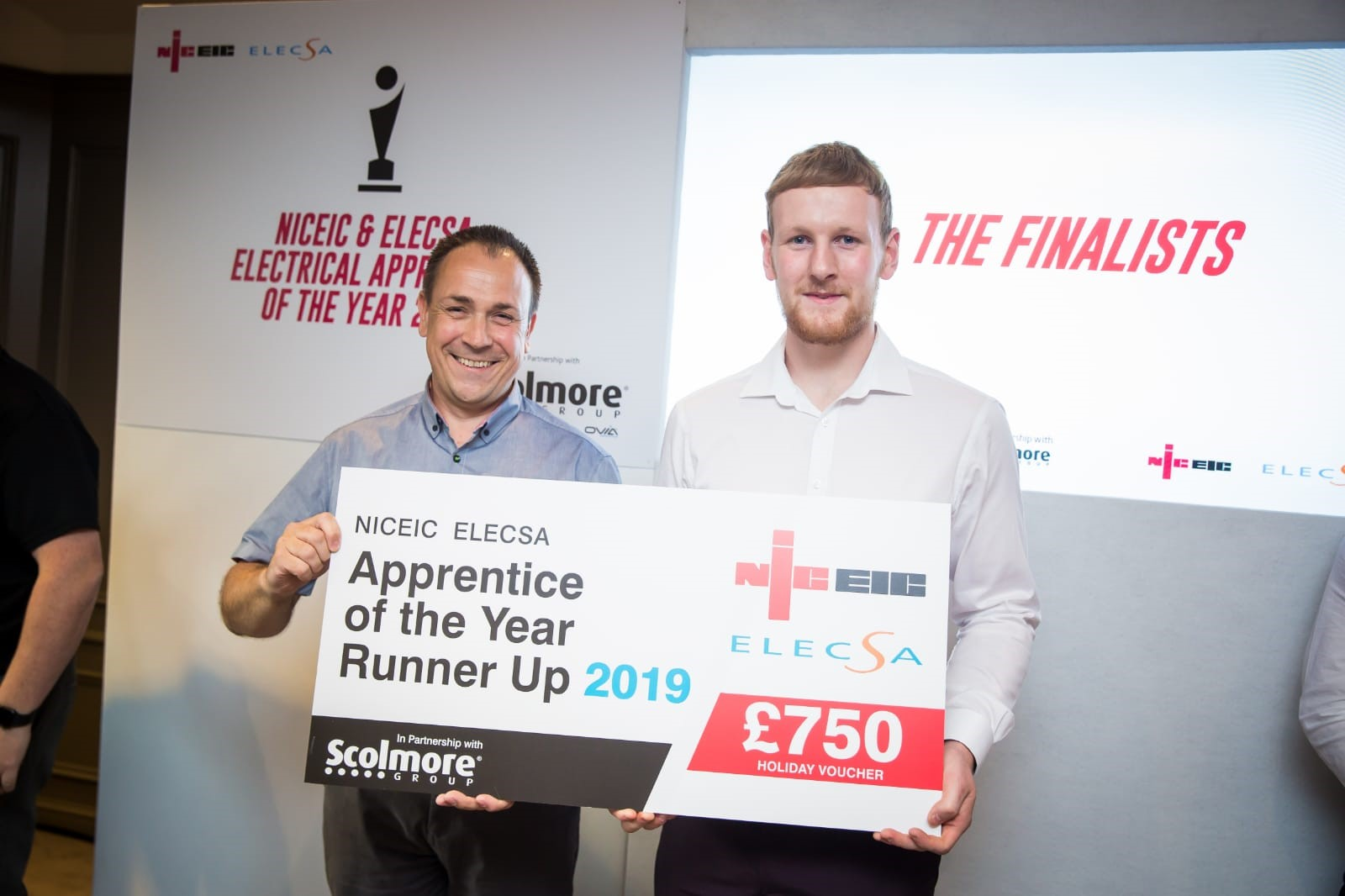 NICEIC Apprentice of the <br>Year Runner-Up