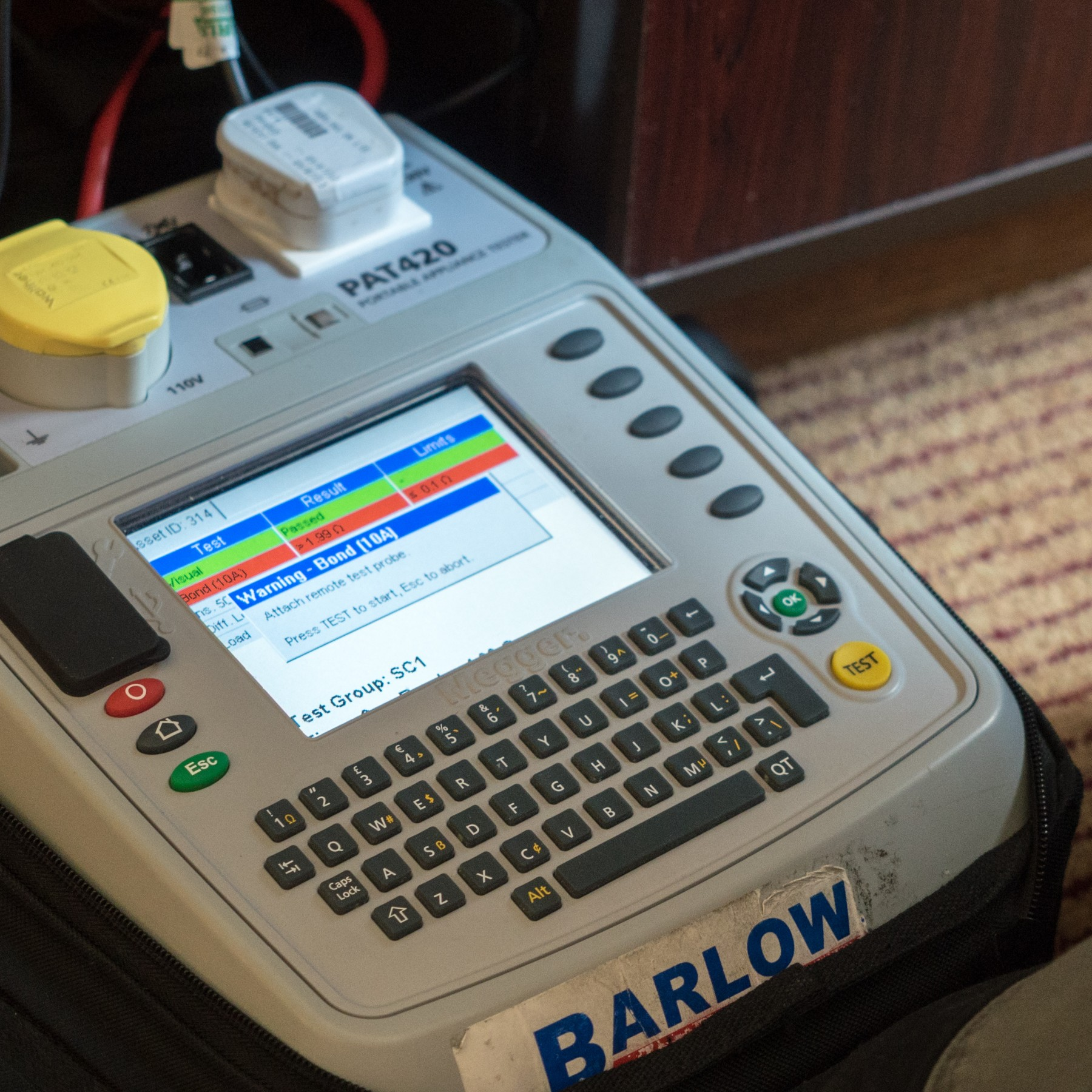 Cool Electrical Testing Compliance Barlows Wiring 101 Carnhateforg