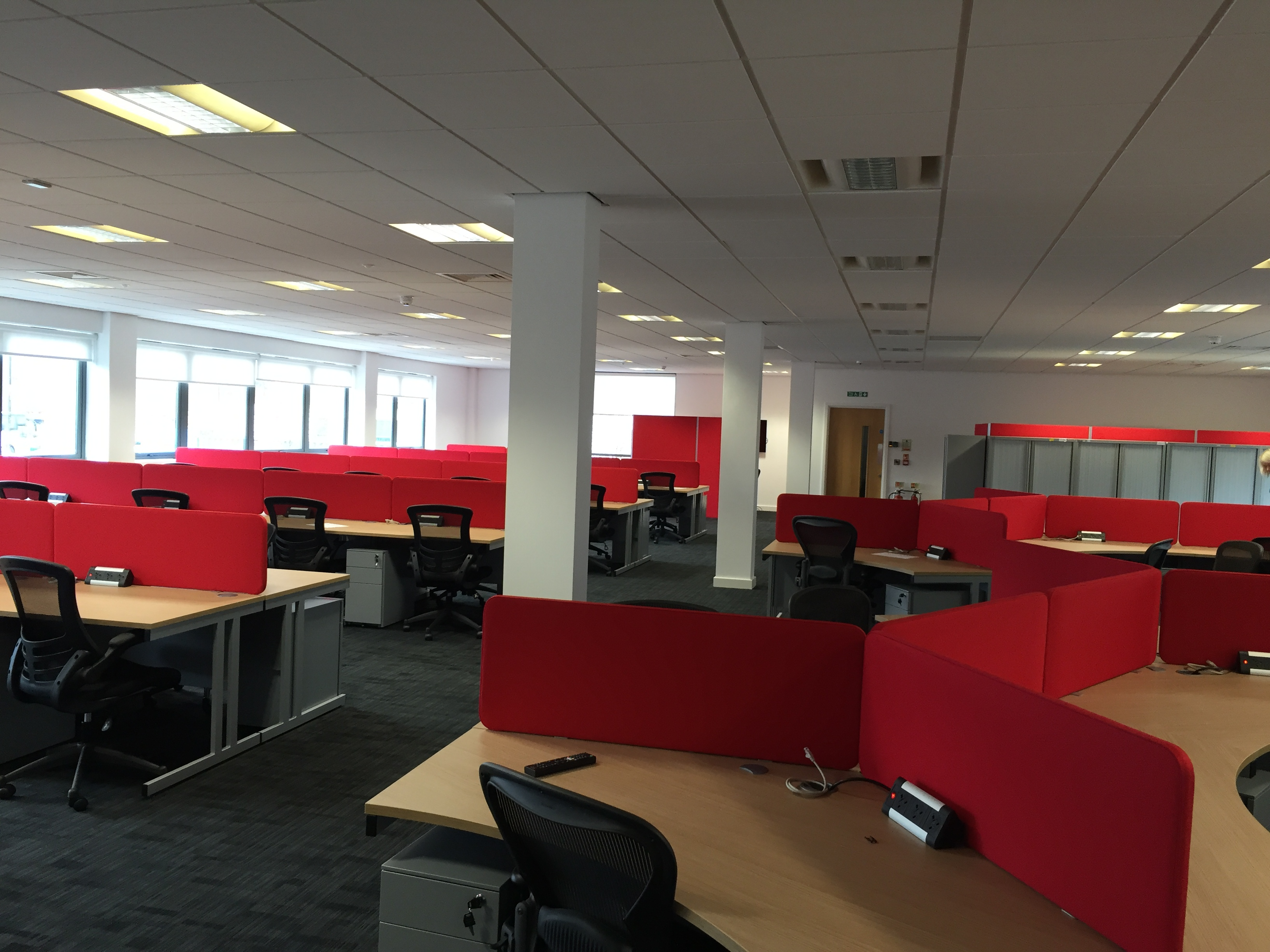 New office space for global business barlows for Outer space office design