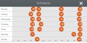 Nest Schedule1